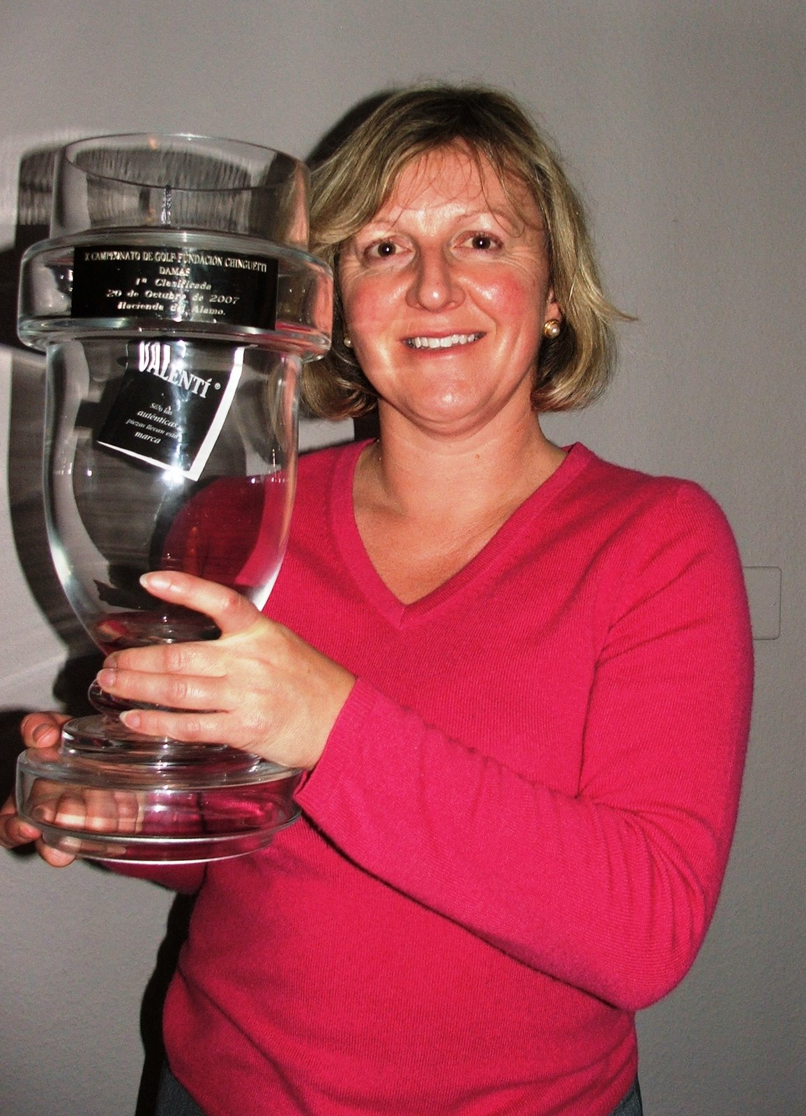 ... back the clock to her glory days as an amateur international golfer, ...