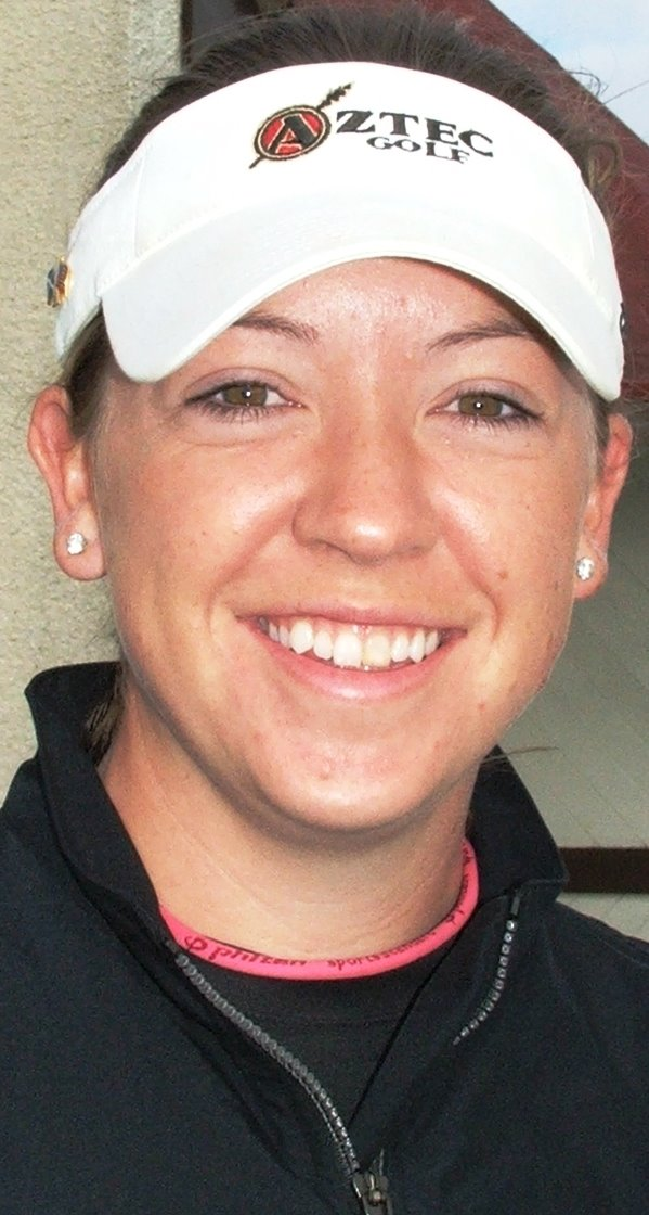 Former British women's open amateur stroke-play champion Heather MacRae, ...