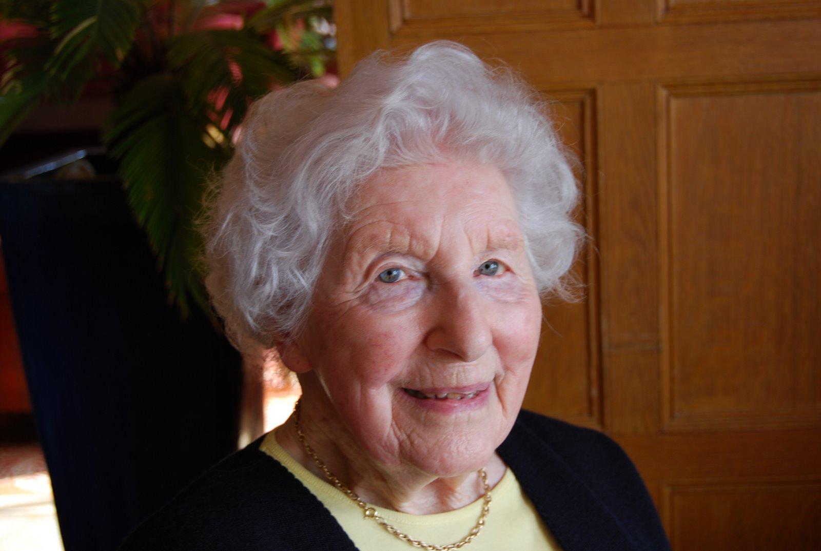 Old british lady